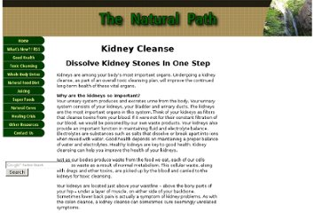 http://www.the-natural-path.com/kidney-cleanse.html