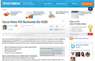 http://www.dreamgrow.com/social-media-roi-backwards-for-b2b/
