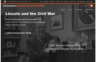 http://www.metmuseum.org/connections/lincoln_and_the_civil_war#/