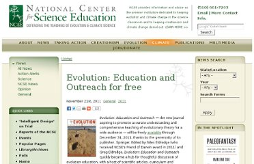 http://ncse.com/news/2011/11/evolution-education-outreach-free-006964