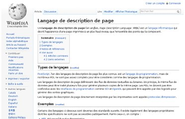 http://fr.wikipedia.org/wiki/Langage_de_description_de_page