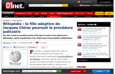 http://www.01net.com/editorial/509818/wikipedia-la-fille-adoptive-de-jacques-chirac-poursuit-la-procedure-judiciaire/