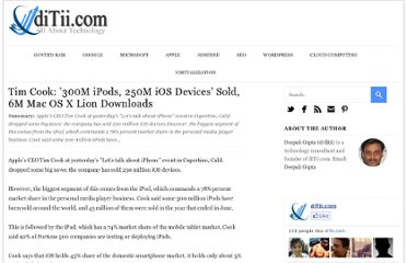 http://www.ditii.com/2011/10/05/tim-cook-300m-ipods-250m-ios-devices-sold-6m-mac-os-x-lion-downloads/