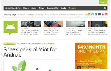 http://androidandme.com/2010/03/news/sneak-peak-of-mint-for-android/