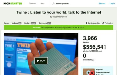 http://www.kickstarter.com/projects/supermechanical/twine-listen-to-your-world-talk-to-the-internet