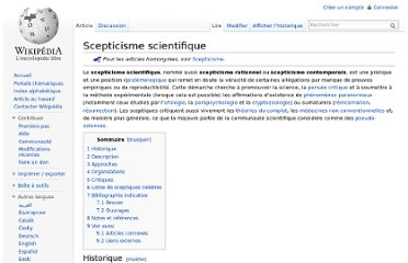 http://fr.wikipedia.org/wiki/Scepticisme_scientifique