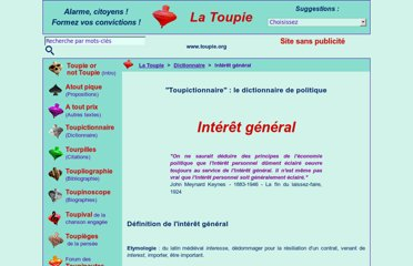 http://www.toupie.org/Dictionnaire/Interet_general.htm
