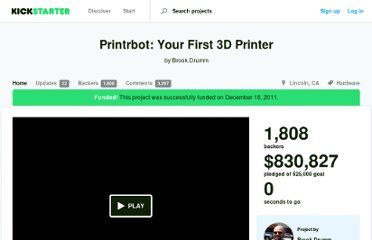 http://www.kickstarter.com/projects/printrbot/1239090607
