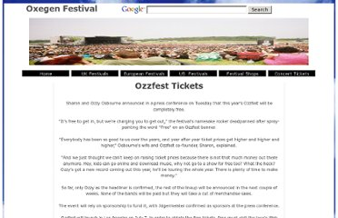 http://www.warnfestivals.co.uk/ozzfest/