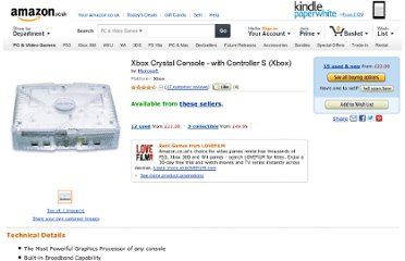 http://www.amazon.co.uk/Xbox-Crystal-Console-Controller/dp/B00064XD72