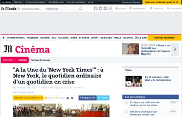 http://www.lemonde.fr/cinema/article/2011/11/22/a-la-une-du-new-york-times-a-new-york-le-quotidien-ordinaire-d-un-quotidien-en-crise_1607518_3476.html