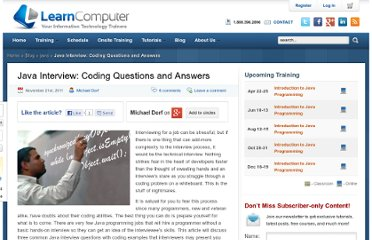 http://www.dzone.com/links/r/java_interview_coding_questions_and_answers.html