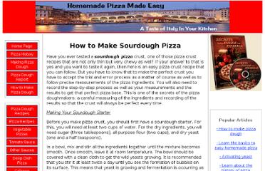 http://www.homemade-pizza-made-easy.com/sourdough-pizza.html