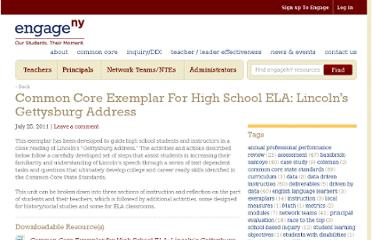http://engageny.org/resource/common-core-exemplar-for-high-school-ela-lincolns-gettysburg-address/