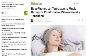 http://lifehacker.com/5861614/sleepphones-put-your-music-in-a-comfortable-pillow+friendly-headband