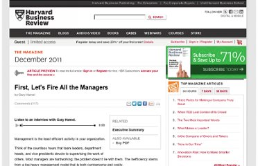 http://hbr.org/2011/12/first-lets-fire-all-the-managers/ar/1