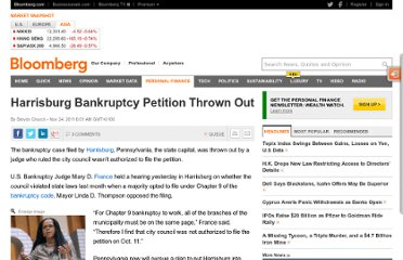 http://www.bloomberg.com/news/2011-11-23/harrisburg-bankruptcy-petition-thrown-out.html