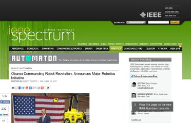 http://spectrum.ieee.org/automaton/robotics/industrial-robots/obama-announces-major-robotics-initiative