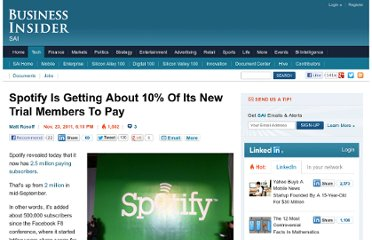 http://www.businessinsider.com/spotify-is-getting-about-10-of-its-new-trial-members-to-pay-2011-11
