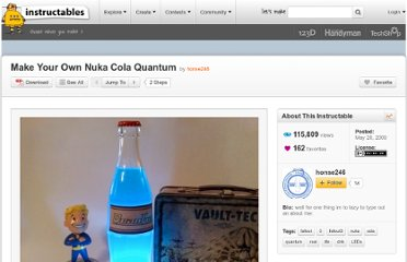 http://www.instructables.com/id/Make-Your-Own-Nuka-Cola-Quantum/