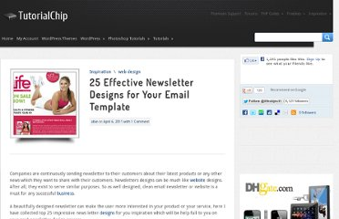 http://www.tutorialchip.com/inspiration/25-effective-newsletter-designs-for-your-email-template/
