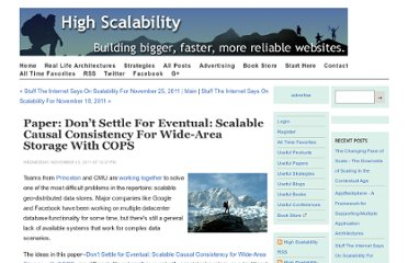 http://highscalability.com/blog/2011/11/23/paper-dont-settle-for-eventual-scalable-causal-consistency-f.html