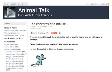 http://www.animaltalk.us/the-concerns-of-a-mouse/