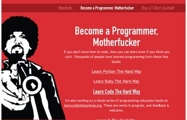 http://www.programming-motherfucker.com/become.html