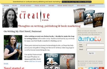 http://www.thecreativepenn.com/firstnovel/