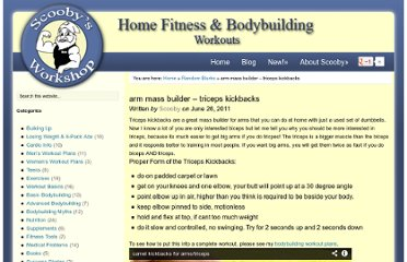 http://scoobysworkshop.com/2011/06/26/arm-mass-builder-triceps-kickbacks/