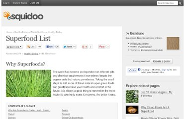 http://www.squidoo.com/superfood-list