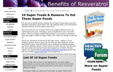 http://www.benefits-of-resveratrol.com/10-super-foods.html