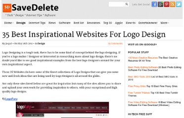 http://savedelete.com/35-best-inspirational-websites-for-logo-design.html