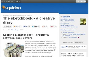 http://www.squidoo.com/sketch-book