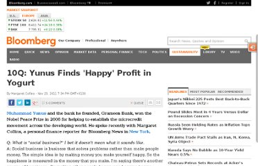 http://www.bloomberg.com/news/2011-11-23/10q-yunus-finds-happy-profit-in-yogurt.html