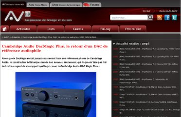 http://www.audiovideohd.fr/actualites/7973-Cambridge-Audio-DacMagic-Plus-DAC-audiophile-de-reference.html