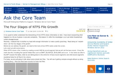 http://blogs.technet.com/b/askcore/archive/2009/10/16/the-four-stages-of-ntfs-file-growth.aspx