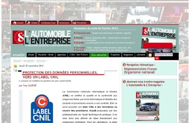 http://www.automobile-entreprise.com/Protection-des-donnees,2399
