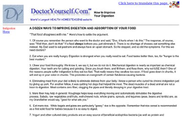http://www.doctoryourself.com/digestion.html