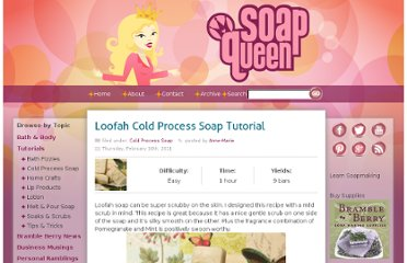 http://www.soapqueen.com/bath-and-body-tutorials/cold-process-soap/loofah-cold-process-soap-tutorial/