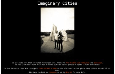 http://www.imaginarycities.ca/front.html