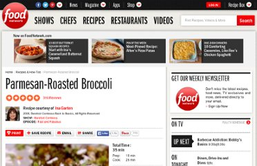 http://www.foodnetwork.com/recipes/ina-garten/parmesan-roasted-broccoli-recipe/index.html