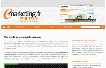 http://blog.e-marketing.fr/mes-outils-de-community-manager/