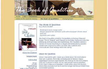 http://www.ruthgendler.com/books_qualities.asp