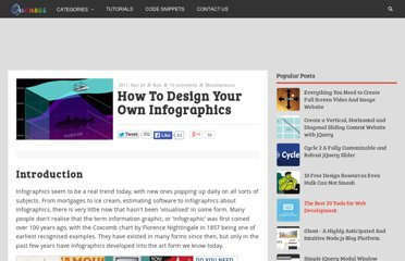 http://www.queness.com/post/9942/how-to-design-your-own-infographics