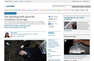 http://www.guardian.co.uk/commentisfree/cifamerica/2011/nov/25/shocking-truth-about-crackdown-occupy