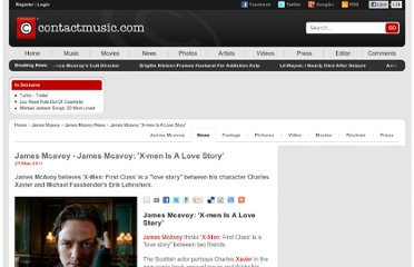 http://www.contactmusic.com/news/james-mcavoy-xmen-is-a-love-story_1221951