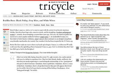 http://www.tricycle.com//blog/buddha-buzz-black-friday-gray-mice-and-white-wives