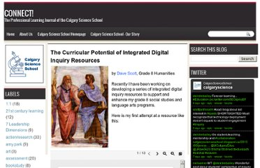 http://calgaryscienceschool.blogspot.com/2011/11/curricular-potential-of-integrated.html