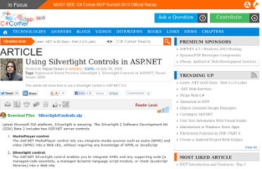 http://www.c-sharpcorner.com/uploadfile/nipuntomar/using-silverlight-controls-in-Asp-Net/